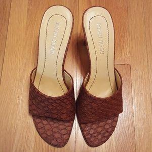 BISOU BISOU small heel sandals